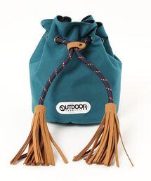 BERENDA コンパクト巾着バッグ  211118 5.8Lブルー