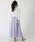HER CLOSET(ハークローゼット)の「【HERCLOSET】サテンギャザースカート(スカート)」|詳細画像