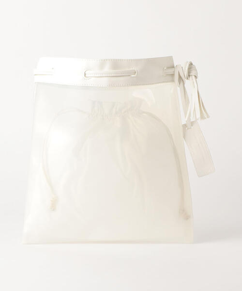 ★★FFC PVC コンビ巾着 バッグ