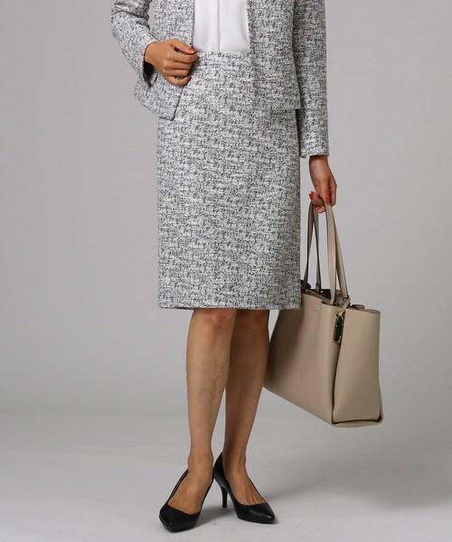 完売 [L]パフツィードスカート(スーツスカート) UNTITLED(アンタイトル)のファッション通販, Fine Interior ファインインテリア:f8a01b6e --- pyme.pe
