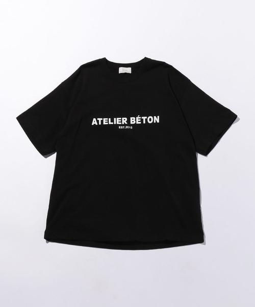 <ATELIER BETON(アトリエべトン)> RUSTIC T/Tシャツ