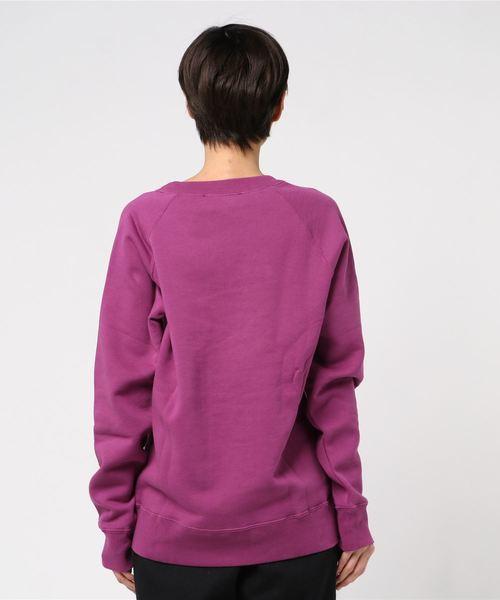 RAGLAN SWEATSHIRT W/LOGO PATCH/ラグラン スウェットシャツ W/ロゴパッチ