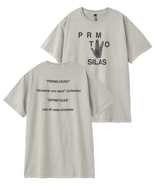 【SILAS×PRMTVO】SS TEE PRMTVO
