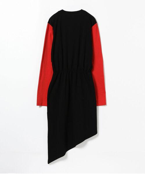 YULIA YEFIMTCHUK + / アシメヘム ドレス