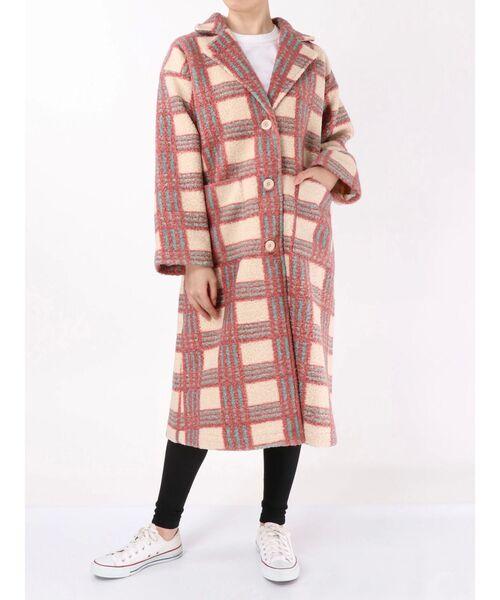 全ての merryバイカラーチェックチェスターコート(チェスターコート)|merry jenny(メリージェニー)のファッション通販, 爽快ドラッグ:47b514e9 --- skoda-tmn.ru