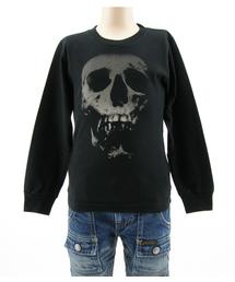 SKULL BERRY pt Tシャツ(XS-M)ブラック