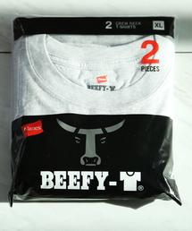 HANES(ヘインズ)の【Hanes/ヘインズ】tシャツ 2枚組クルーネック(丸首)Tシャツ(Tシャツ/カットソー)