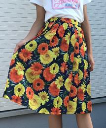 JENNI love(ジェニィラブ)の総柄フラワープリーツスカート(スカート)