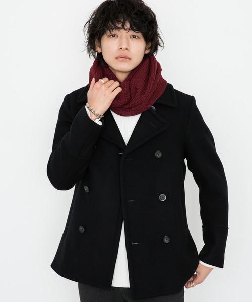 【STUDIOUS】スーパー110sダブルメルトンPEAコート