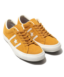 CONVERSE(コンバース)のCONVERSE STAR&BARS SUEDE TEAMCOLORS (イエロー)(スニーカー)