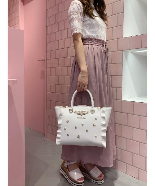 上品 Samanthaビジュー付フラッター(ハンドバッグ)|Samantha Vega(サマンサベガ)のファッション通販, 美原町:e0453155 --- ruspast.com