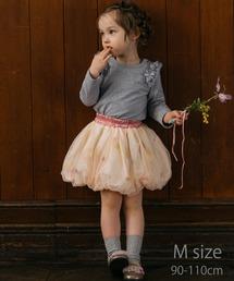 6fcd29a2db93a panpantutu TODDLER(パンパンチュチュトドラー)の「お花とリボンのバルーンスカート