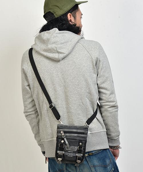 【DEVICE/デバイス】 ミリタリーポーチショルダー
