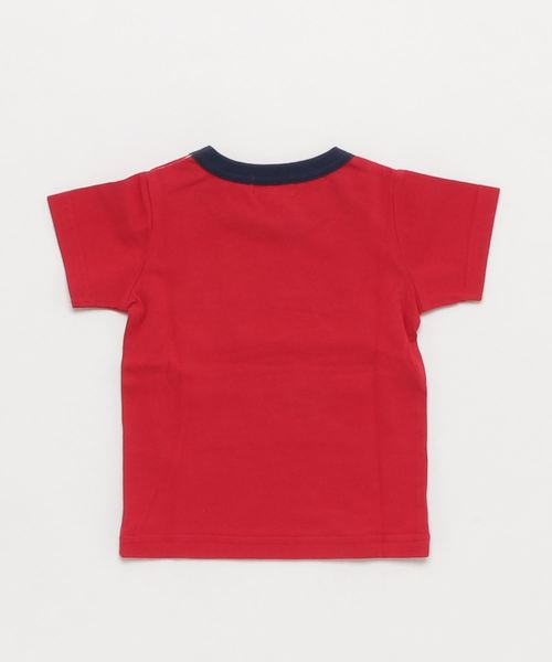 トドラーボーイズ 後ろワンポイント 半袖Tシャツ 全2柄