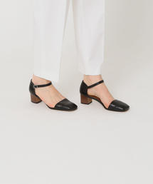 <Steven Alan>LEATHER SQUARE TOE SEPARATE SHOES/パンプス