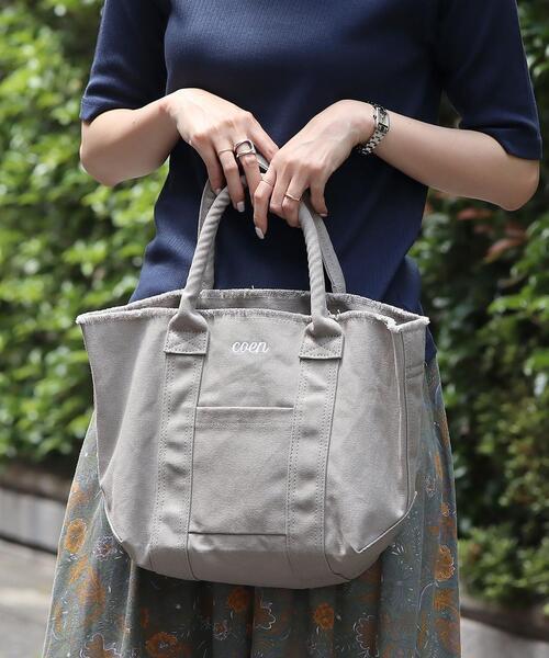 【WEB限定カラー】コーエンロゴ刺繍カットオフトートバッグ