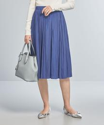 【WORK TRIP OUTFITS】★WTO PE プリーツ スカート