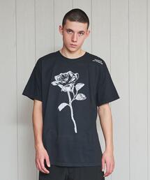 <PRESSURE>DRAGON ROSE T-SHIRT/Tシャツ.