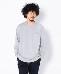 Goodwear(グッドウェア)のGOODWEAR/グッドウエア L/S CREW NECK POCKET TEE ロングスリーブクルーネックポケットTシャツ(Tシャツ/カットソー)