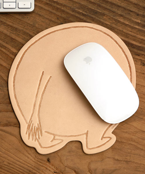 MOOMIN(ムーミン)の「MOOMIN ムーミン レザーマウスパッド(PCグッズ)」|その他
