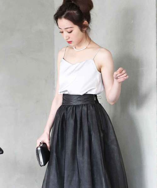 DRESS LAB(ドレスラボ)の「ジャケット&チュール ドレス 3ピース セットアップ【3点セット】結婚式(ドレス)」|グレイッシュベージュ