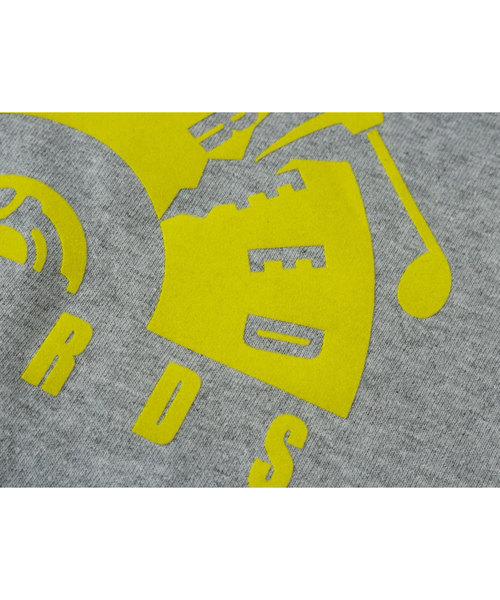 インターブリード [INTERBREED] - フロッキープリント レコード Tシャツ [IB RECORDS FLOCK LOGO SS TEE]