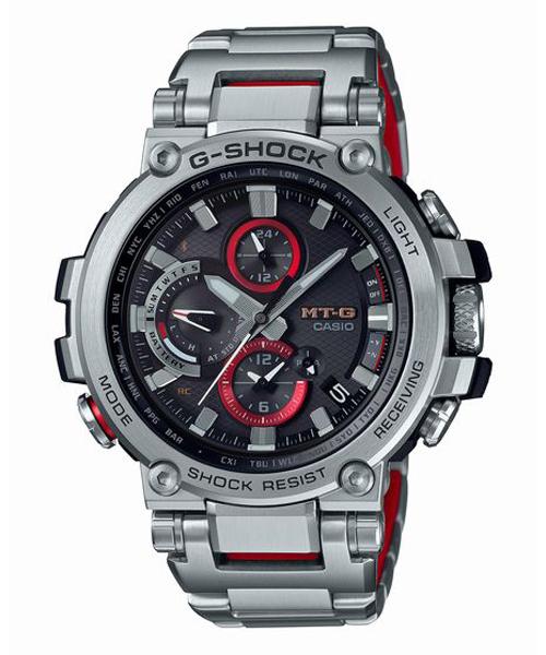 G-SHOCK ジーショック CASIO カシオ MT-G 電波ソーラー スマートフォンリンク 腕時計
