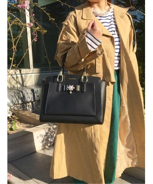 【70%OFF】 花柄ビジューリボン付きトートバッグ Samantha 大(ハンドバッグ)|Samantha Vega(サマンサベガ)のファッション通販, ムサシノシ:12f3d592 --- hundefreunde-eilbek.de