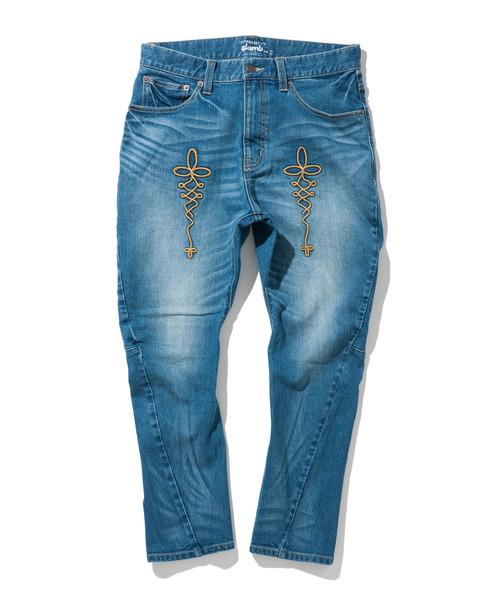 【高い素材】 【ブランド古着】加工デニムパンツ(デニムパンツ)|glamb(グラム)のファッション通販 - USED, ビジネスシューズのシューカフェ:5c29ca30 --- kredo24.ru