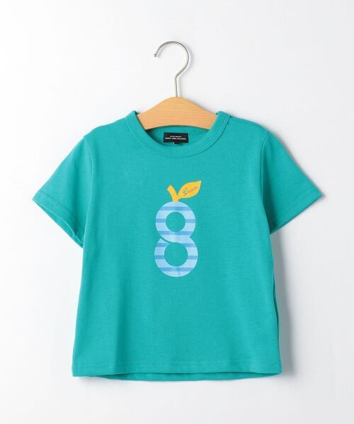 〔吸水速乾〕gロゴプリント Tシャツ ショートスリーブ �U