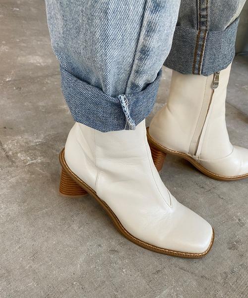 【chuclla】【2020/AW】Triangle heel boots chs91