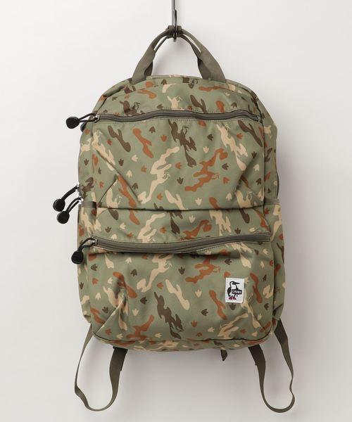 CHUMS(チャムス)の「CHUMS(チャムス)Eco Front Pocket Day Pack エコフロントポケットデイパック CH60-2524(バックパック/リュック)」 カモフラージュ
