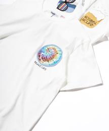 grn(ジーアールエヌ)のUSAコットン天竺 ポケットモチーフTEE(Tシャツ/カットソー)