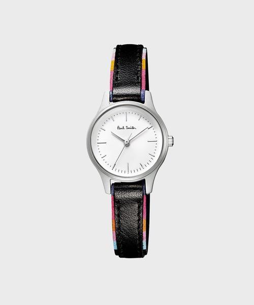Paul Smith(ポールスミス)の「The City mini ウィメンズウォッチ / 863332 BELT(腕時計)」|ホワイト
