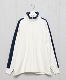 <C.E>HALF ZIP PULLOVER/カットソー.