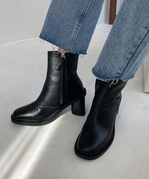 【chuclla】【2020/AW】Triangle heel boots chs92