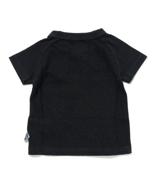「R.」ロゴプリントTシャツ