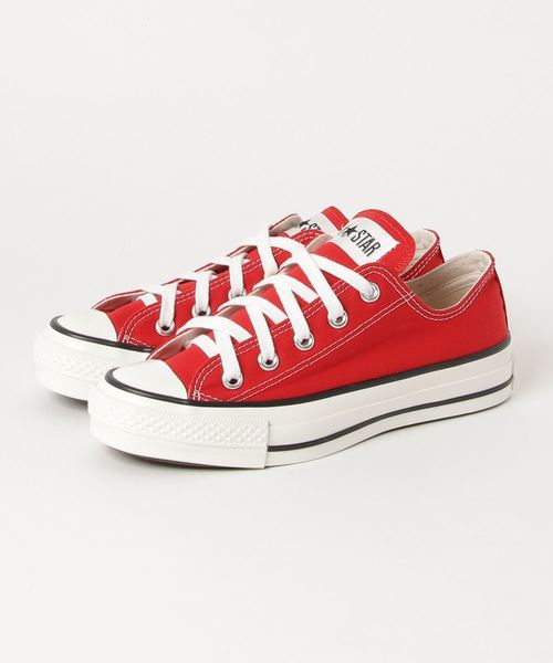CONVERSE CANVAS ALL STAR J OX (レッド)