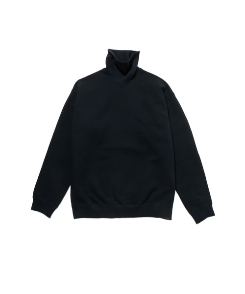 FALL2019 HIGH NECK SWEAT SHIRT