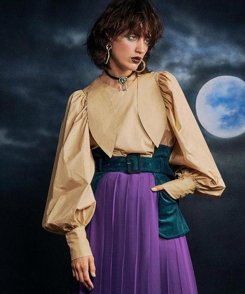 人気ブランド Back To To Front Tie Tie Blouse(シャツ/ブラウス) Front|PAMEO POSE(パメオポーズ)のファッション通販, BRILLER yu&me:28c78f8d --- tsuburaya.azurewebsites.net