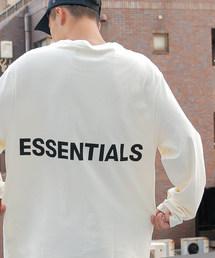 FOG ESSENTIALS(エフオージーエッセンシャルズ)のFOG ESSENTIALS エフオージーエッセンシャルズ Fear of God フィアオブゴッド / Boxy L/S T-Shirt ボクシーバックロゴプリント長袖ビッグシルエットTシャツ(Tシャツ/カットソー)