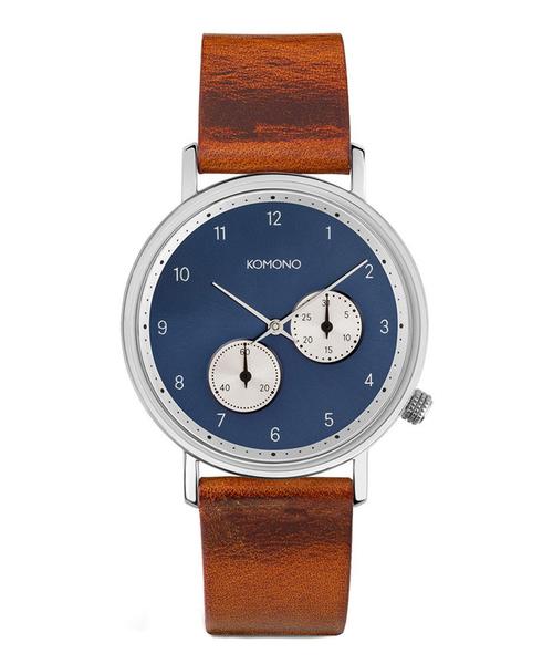 KOMONO.(コモノ)の「「KOMONO コモノ」腕時計ワルサー(アナログ腕時計)」|ブラウン系その他