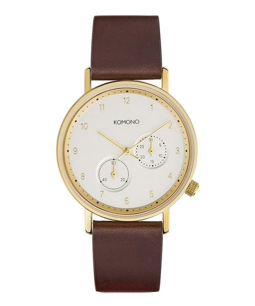 KOMONO.(コモノ)の「「KOMONO コモノ」腕時計ワルサー(アナログ腕時計)」|ブラウン系その他2