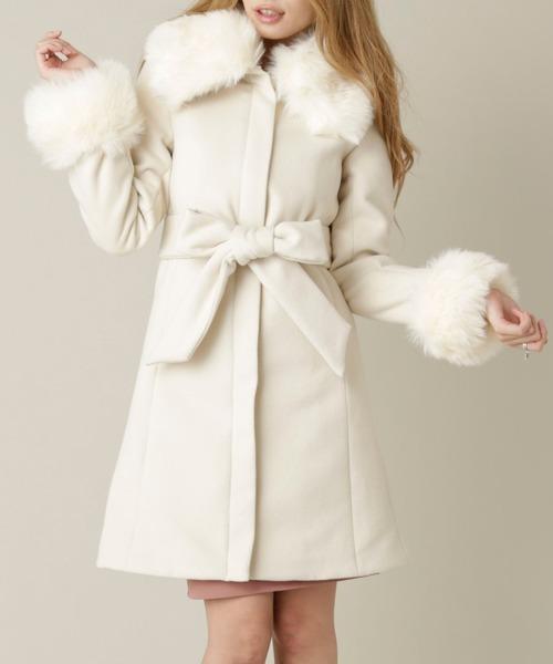 【新発売】 Delyleビックカラーファー付コート(その他アウター)|Delyle NOIR(デイライルノアール)のファッション通販, 東山区:edb95bd1 --- blog.buypower.ng