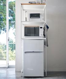 TIMELESS COMFORT(タイムレスコンフォート)のtower (タワー) 冷蔵庫上ラック(キッチンツール)