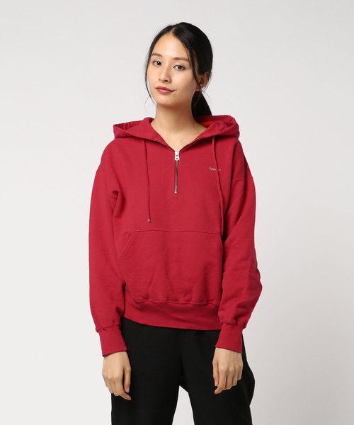激安な 【Gymphlex】ハーフジップ プルオーバーパーカー WOMEN(パーカー)|Bshop(ビショップ)のファッション通販, 滝上町:f2e47bf5 --- 5613dcaibao.eu.org