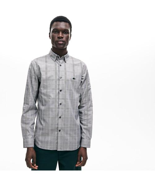 新作人気モデル グレンチェックスリムボタンシャツ(シャツ/ブラウス)|LACOSTE(ラコステ)のファッション通販, 銀座ランプショップ:9cd82309 --- arguciaweb.com