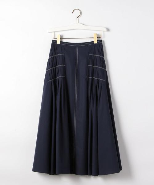 〔ハンドウォッシャブル〕FC HW C/TYP デザインタック スカート