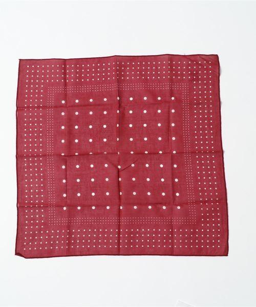 スカーフ付ボーダーボリューム袖プルオーバー