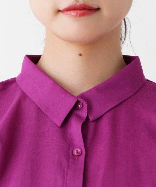 ふんわり袖シャツ